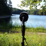 Recording at Walden Pond
